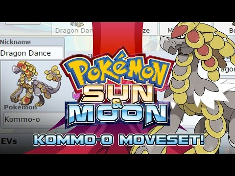 Kommo-o Moveset Guide! How to use Kommo-o! Pokemon Sun and Moon! w/ PokeaimMD!