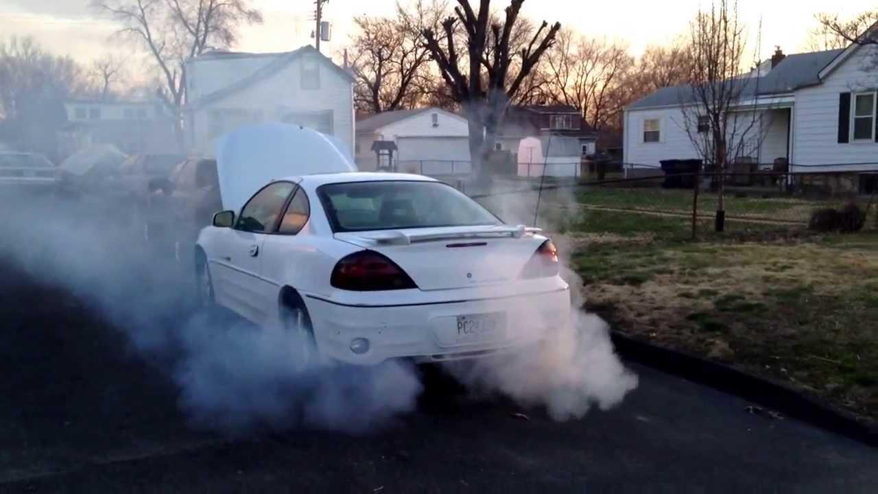 Alysons Smoke Machine Seafoaming 99 Grand Am GT
