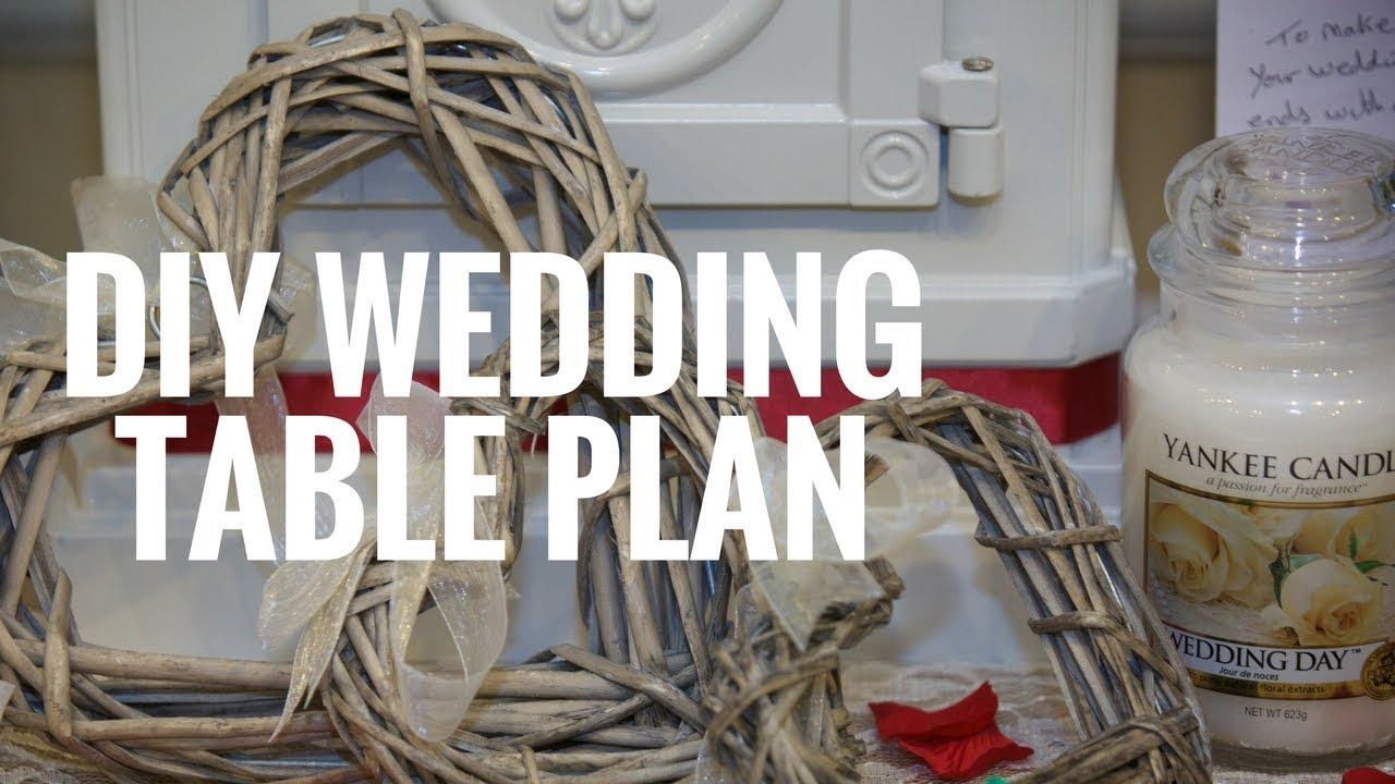 Diy Wedding Seating Table Plan Kate Stutter