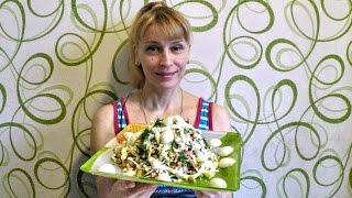 Салат оливье из капусты вкусно просто и быстро