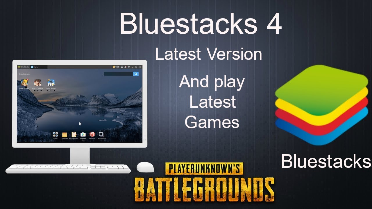 And Install Bluestacks