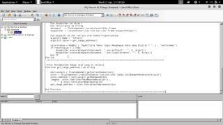 LibreOffice Calc macro