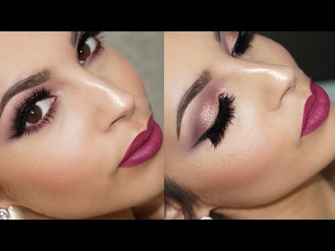 Soft Smokey Eyes Makeup Tutorial | Morphe Palette