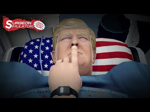 Îl operăm pe Donald Trump | Surgeon Simulator