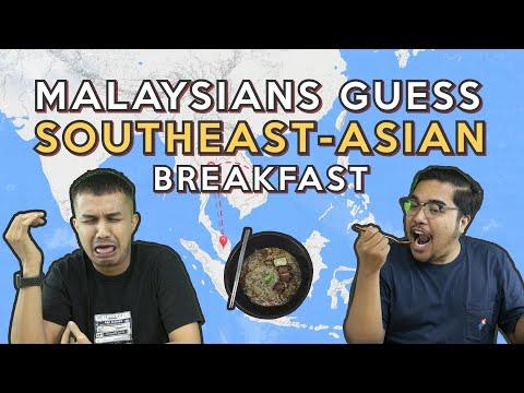 Malaysians Guess Southeast-Asian Breakfast