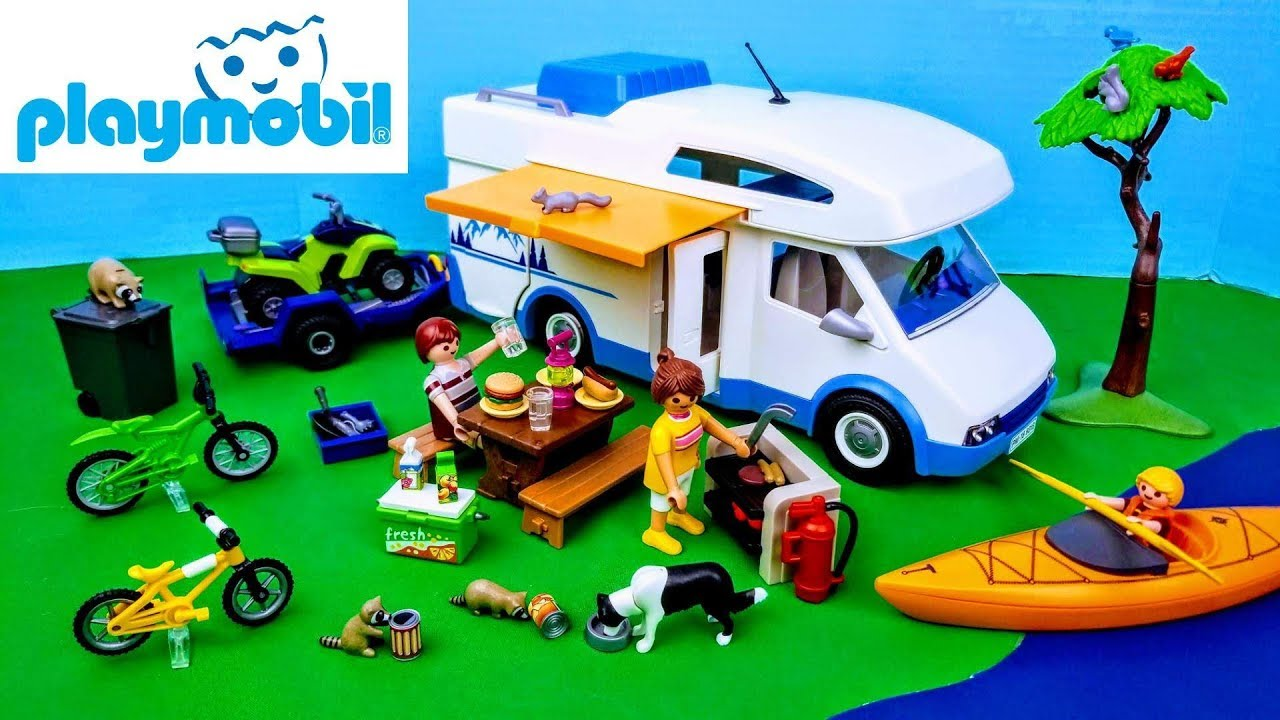 Playmobil Family Fun Camping Adventure 9318 for Kids 4 and up