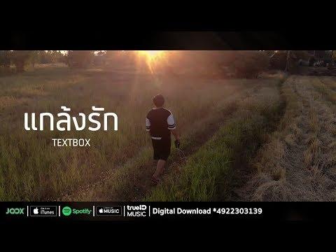 แกล้งรัก - TEXTBOX [ Official Audio ]