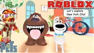 🐕 ESCAPE THE SECRET LIFE OF PETS OBBY!! | Die seltsame Seite von Roblox: Das geheime Leben der Haustiere