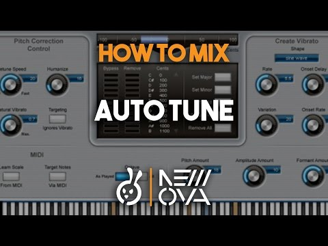 Mixing With Auto Tune - Rap Vocals - Sevel Johnson