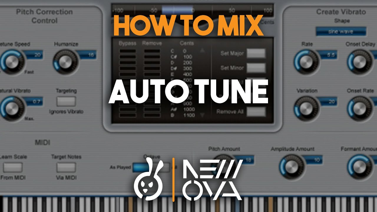 How To Mix With `Auto Tune` On Rap Type Vocals On Pro Tools Waves & Slate  Digital Plug Ins