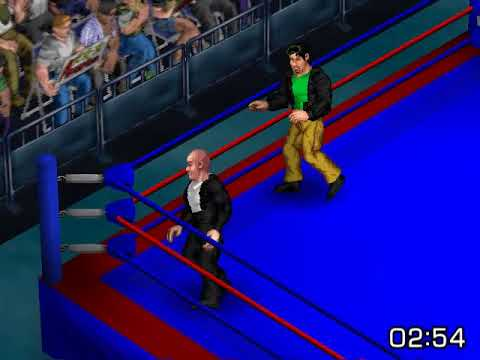 Lex Luthor vs Starman Fire Pro Wrestling Returns