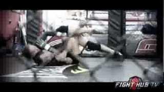UFC 170 Rousey vs. McMann- Ronda Rousey works wrestling w/Olympian Martin Berberyan thumbnail