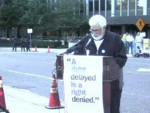 Rally at the FDA