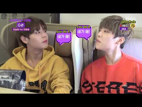 [ENG] Wanna One Go Season 2 Preview - Plane Ride to Singapore FM + Guanlin's Bday