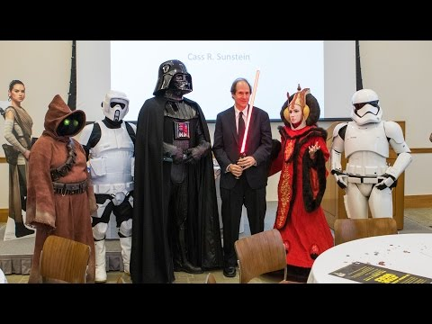 HLS Library Book Talk | Cass Sustein: The World According to Star Wars