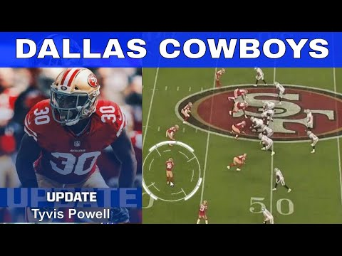 Dallas Cowboys Newly signed Tyvis Powell Film Overview