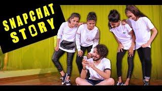 Snapchat story dance choreography | Vicky Patel | Bollyrical
