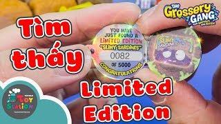 Tìm thấy Limited Edition huyền thoại của Grossery Gang Series 1 ToyStation 259