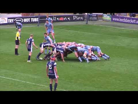 Yorkshire Carnegie v London Scottish Highlights