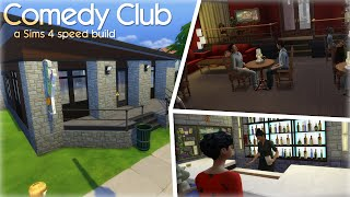 Comedy Club | The Sims 4 Building