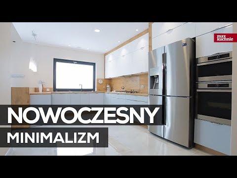 Nowoczesny Minimalizm Max Kuchnie Studio Ak Kuchnie