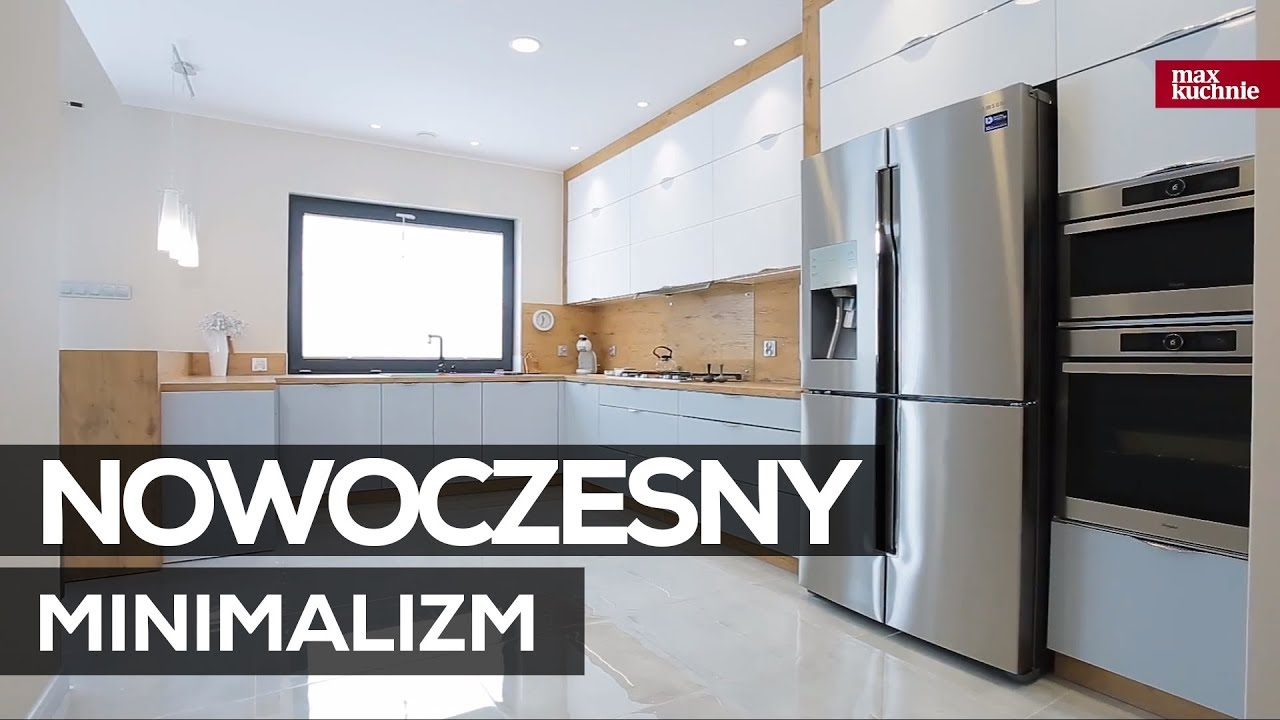 Nowoczesny Minimalizm Max Kuchnie Studio Ak Kuchnie Chrzanów