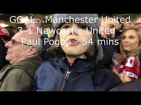 Manchester United v Newcastle United | Match Day Vlog | Premier League | 18.11.2017