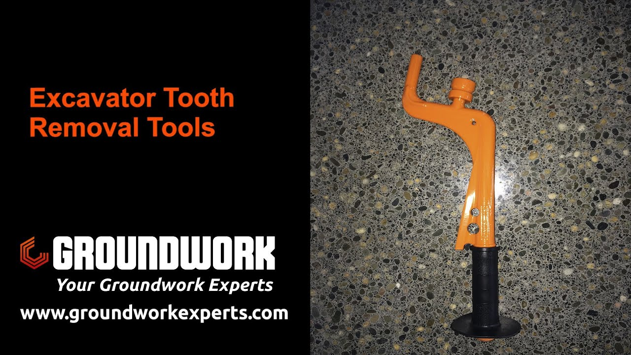 Remove Bucket Pins Quickly With The Excavator Tooth Removal Tool