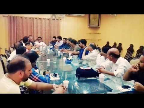 Islamabad : Sports journalists  meeting at national press club Islamabad, sportswire Pakistan