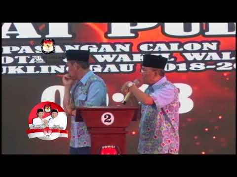Debat Publik pertama calon walikota & wakil Walikota Lubuklinggau 2018-2023.Part5