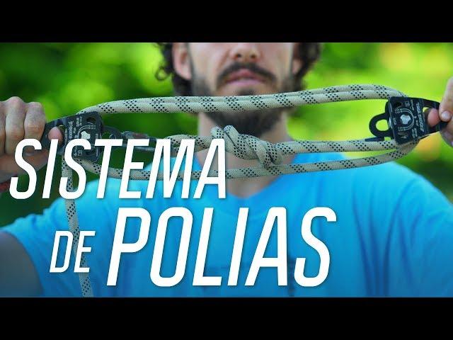 Como montar o Sistema de Polias no Slackline | Manual de Slackline | Canal OFF