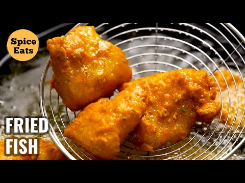 FRIED FISH | BATTER FRIED FISH RECIPE | AMRITSARI FISH FRY RECIPE