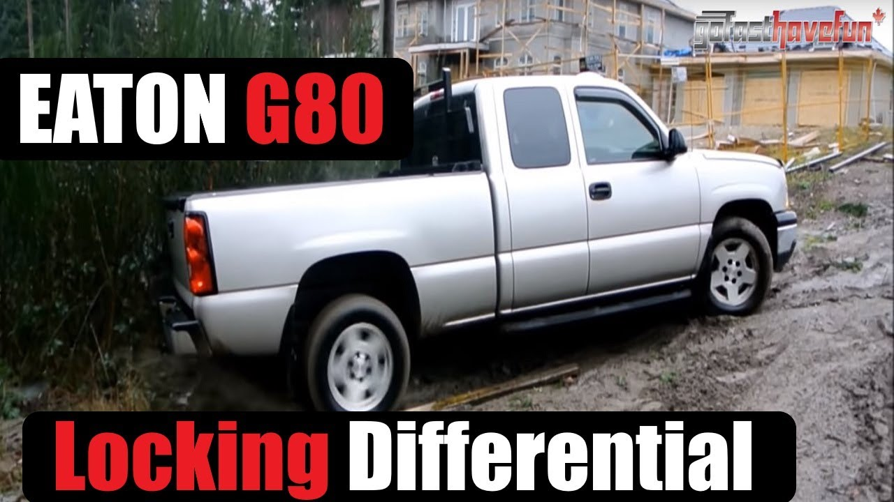 Eaton G80 Locker Locking Differential Chevrolet Silverado Anthonyj350 Youtube