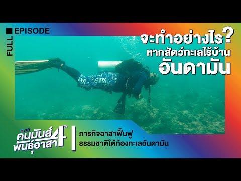 ภารกิจอาสาฟื้นฟูธรรมชาติใต้ท้องทะเลอันดามัน - วันที่ 28 Oct 2019