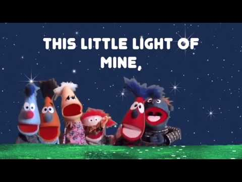 This Little Light Of Mine (Wesley's Wuppets Remix) - Kid's Worship - Sing Along Lyric Video