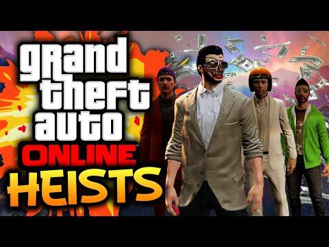 GTA 5: Online - Heists Funtage! - (GTA 5 Funny Moments w/ Robust)