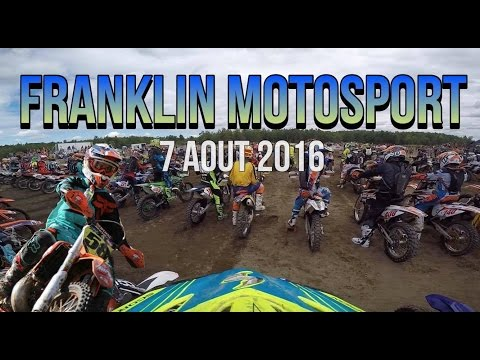 SERIE ENDUROCROSS FRANKLIN 2016