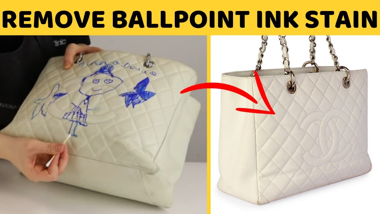3 Ways To Remove Ball Pen Ink From Leather Bag With Home Solutions You