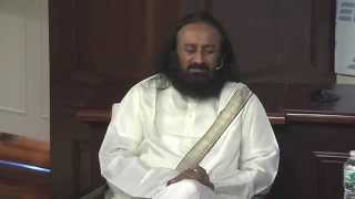 Sri Sri Ravi Shankar on how hard work keeps you out of trouble