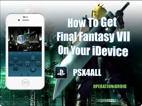 PSX4ALL: How To Get Final Fantasy VII on iPhone,iPad or iPod Touch