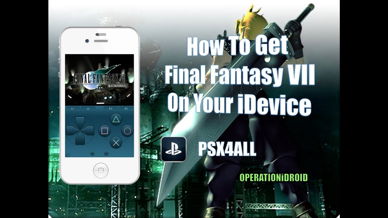 play final fantasy vii on iphone