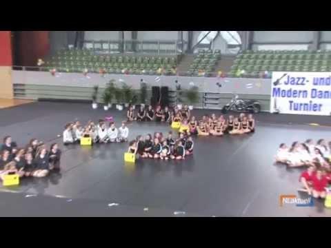 Eröffnung Jazz & Modern Dance Turnier Norddeutsche Meisterschaften in Cottbus