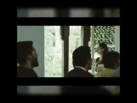 Premam scene with  minnale BGM