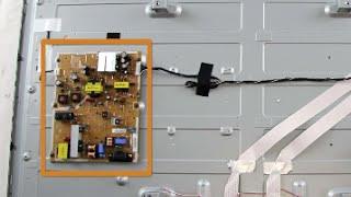 Vizio TV No Image Black Blank Screen & No Backlights Basic LED Troubleshooting Help