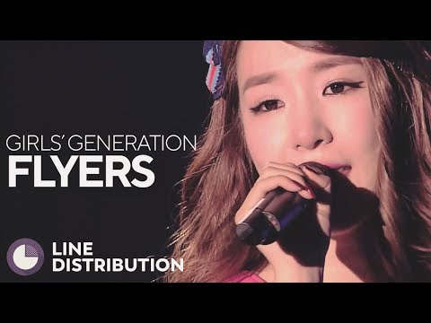 GIRLS' GENERATION - FLYERS (Line Distribution)