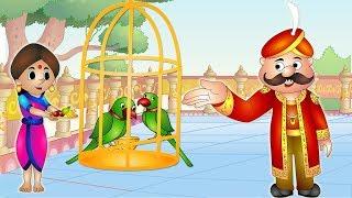 Manohari Tote | मनोहारी तोते | Hindi Kahaniya for Kids | Moral Stories for Kids | Jingle Toons