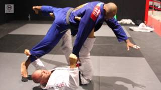 "Lucio Rodrigues ""Lagarto"" shows closed guard sweep to Knee Bar with Igor Silva"
