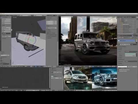 Making of CGI Mercedes-Benz G-Class