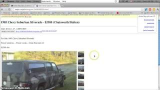 Craigslist Cleveland Georgia Used Cars Trucks And Vans Sale