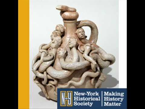 Thomas Nast Jug and Stopper (416) | New-York Historical Society